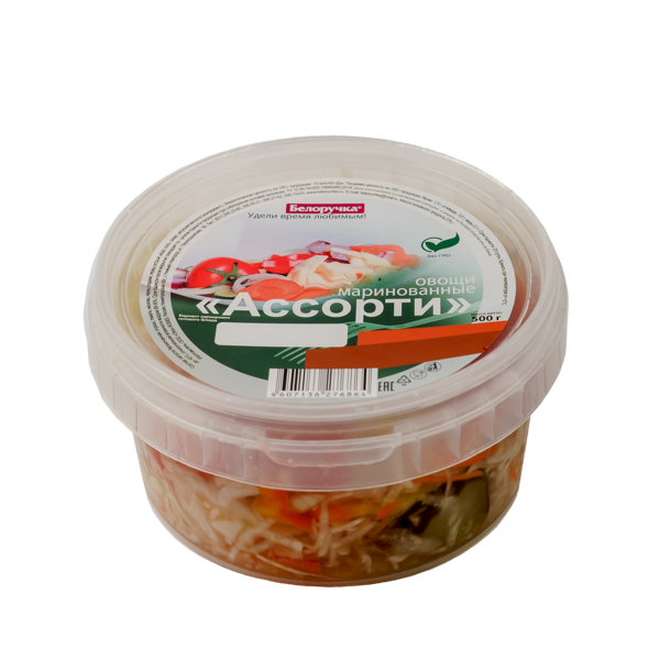Овощи  маринованные  «Ассорти»